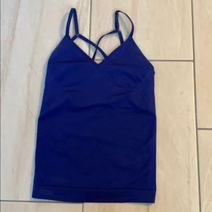 Nike dri-fit blue workout top size xs